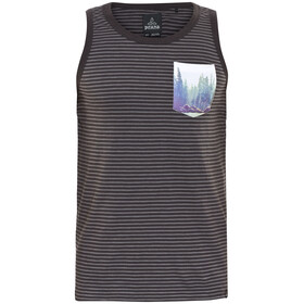Prana Shuffle Mouwloos Shirt Heren grijs